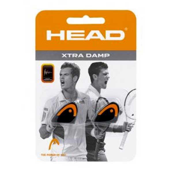 [해외]헤드 RACKET Xtra Tennis Dampeners 2 Units 1228834 Black / Orange