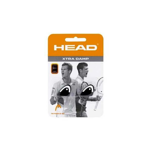 [해외]헤드 RACKET Xtra Tennis Dampeners 2 Units 1228836 Black / White