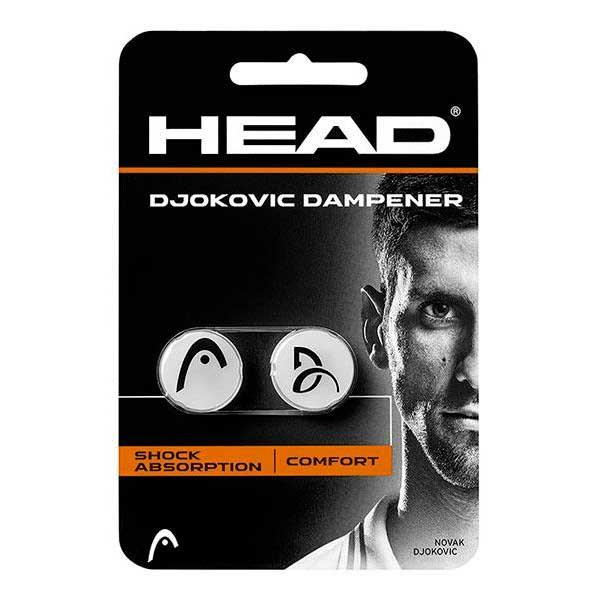 [해외]헤드 RACKET Djokovic Tennis Dampeners 2 Units 12446214 Grey / Black