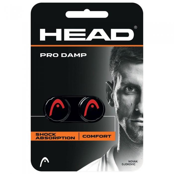 [해외]헤드 RACKET Pro Tennis Dampeners 2 Units 12136324894 Black / Red