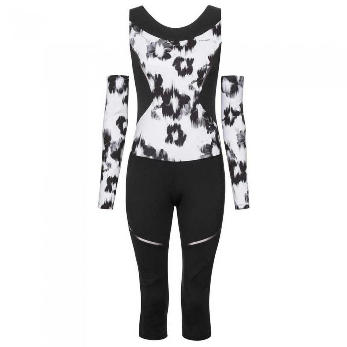 [해외]헤드 퍼포먼스 Catsuit Black / White