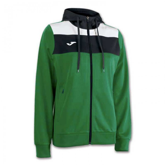 [해외]조마 Crew Hooded Jacket 121294172 Green Medium / White / Black
