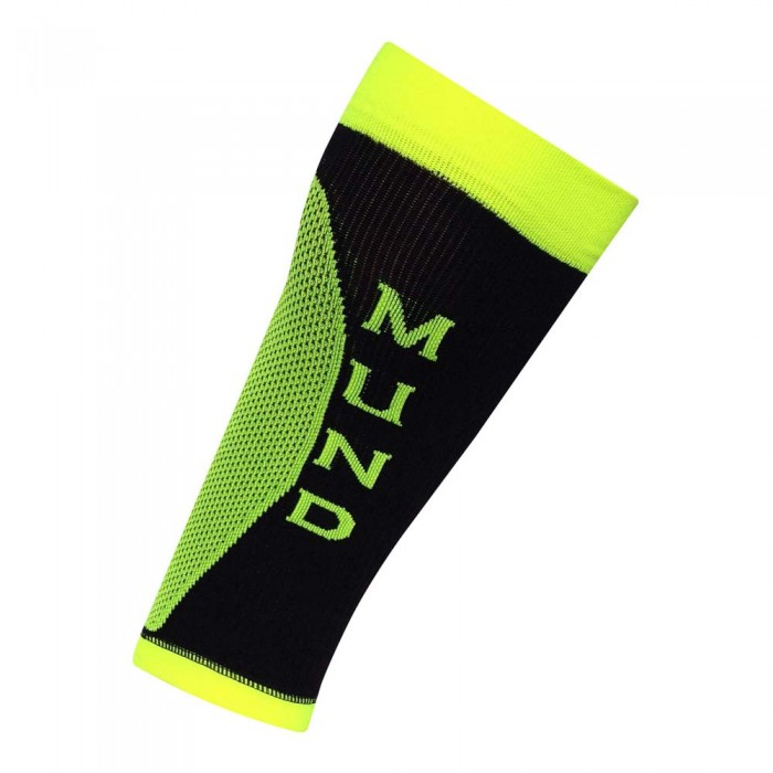[해외]MUND SOCKS Long Distance Calf 12136223564 Black / Amarillo