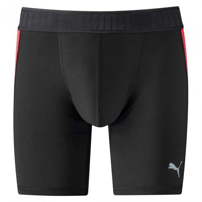 [해외]푸마 Active Long Boxer Packed 12136567376 Black / Red