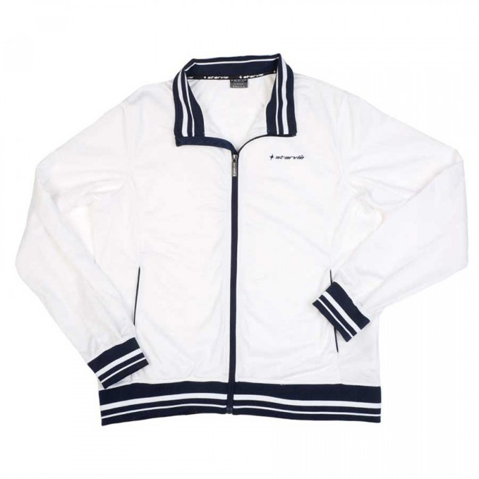 [해외]STAR VIE Setras Jacket 12135970386 White / Navy
