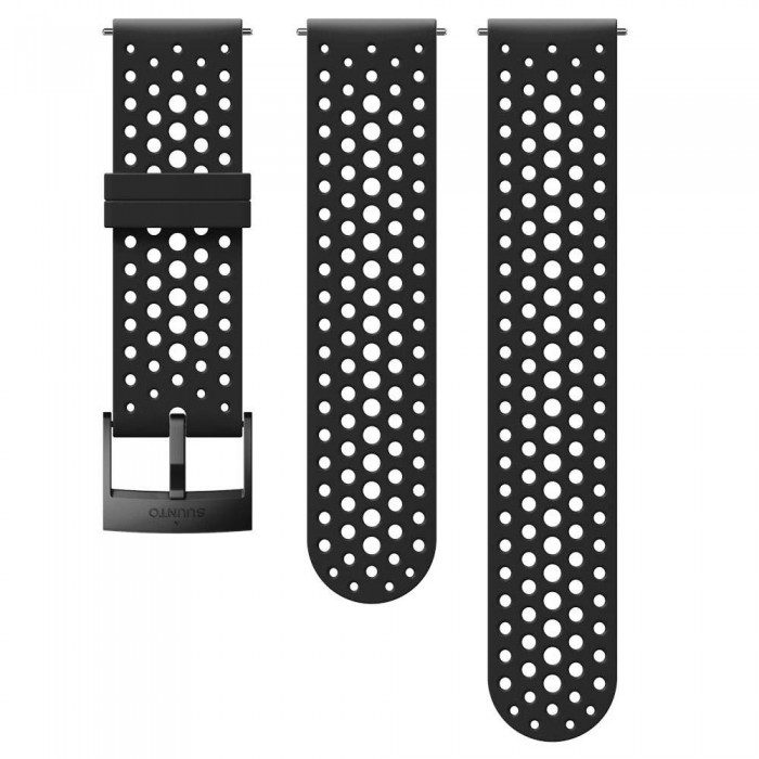 [해외]순토 Athletic 1 Silicone Strap 12136954641 Black