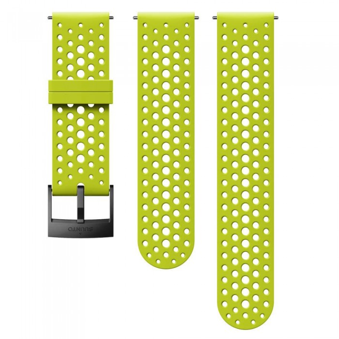[해외]순토 Athletic 1 Silicone Strap 12136954642 Lime / Black