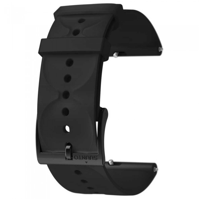 [해외]순토 Urban 1 Silicone 20mm S Strap 12137002735 All Black