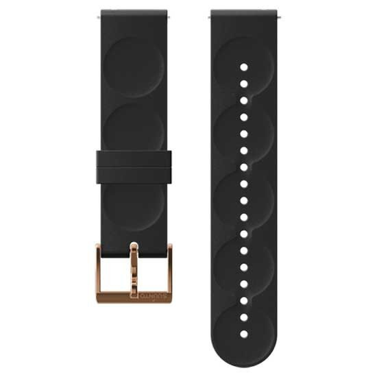 [해외]순토 Urban 1 Silicone 20mm S Strap 12137002739 Black / Copper