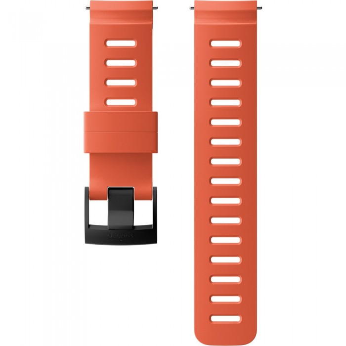 [해외]순토 24mm Dive 1 Silicone Strap 12137066443 Coral / Black