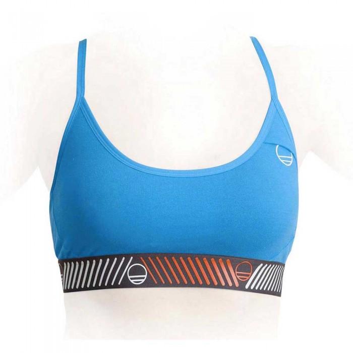 [해외]WILDCOUNTRY 스포츠 Bra 탑 Woman Cyan Blue