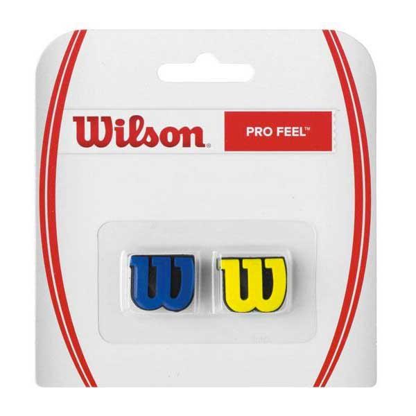 [해외]윌슨 Pro Feel Tennis Dampeners 2 Units 12574764 Blue / Yellow