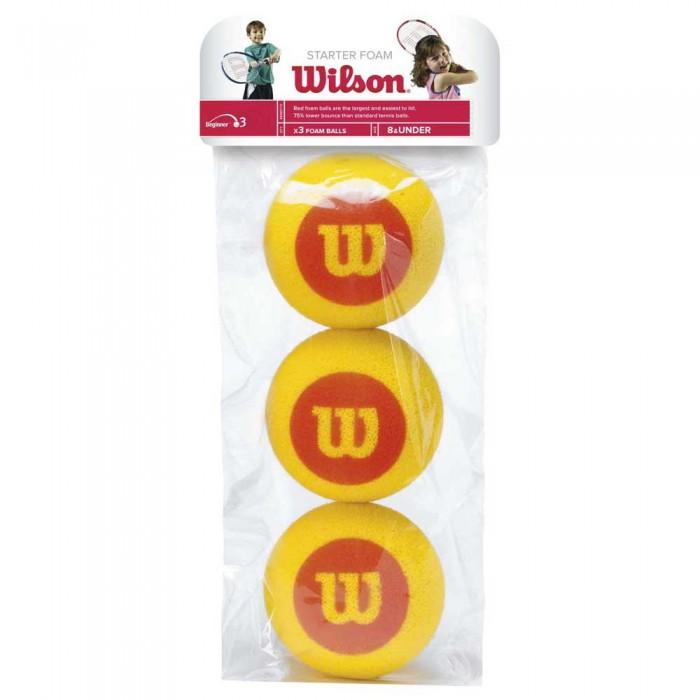 [해외]윌슨 Starter Foam Bag 12135957610 Yellow / Red