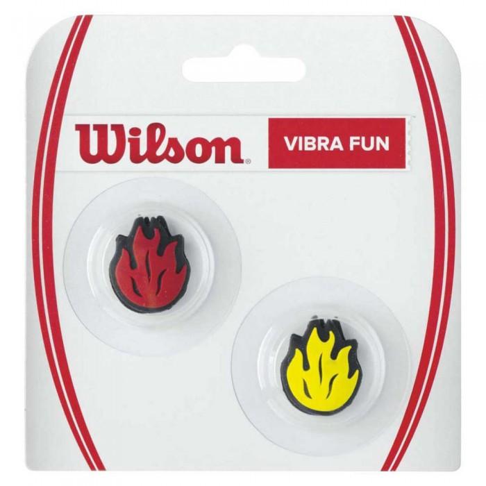 [해외]윌슨 Vibra Fun Tennis Dampeners 2 Units 12135957618 Flames