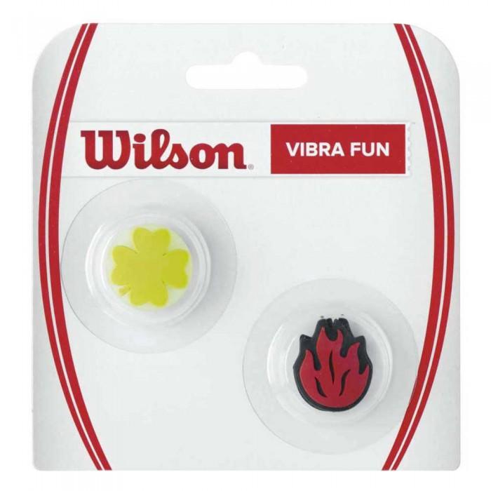 [해외]윌슨 Vibra Fun Tennis Dampeners 2 Units 12135957619 Clover / Flame