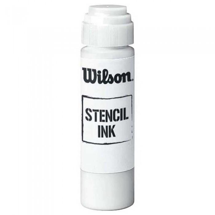[해외]윌슨 Stencil 잉크 화이트