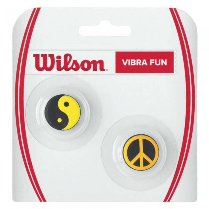 [해외]윌슨 Vibra Fun Tennis Dampeners 2 Units 12136261934 Ying Yang / Peace