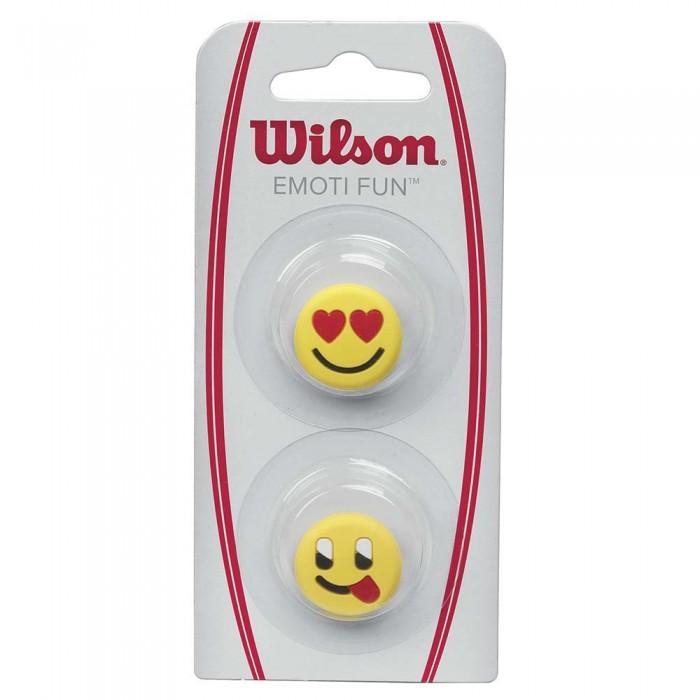 [해외]윌슨 Emoti Fun Tennis Dampeners 2 Units 12136261937 Heart Eyes / Fun