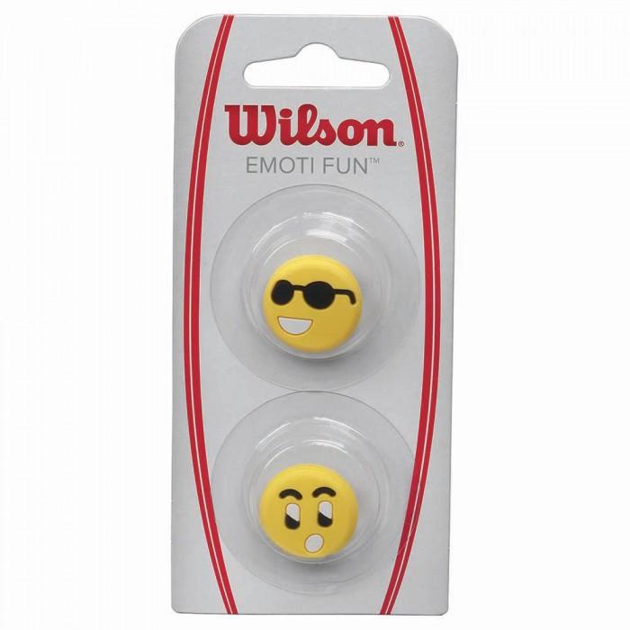 [해외]윌슨 Emoti Fun Tennis Dampeners 2 Units 12136261938 Sunglasses / Surprised