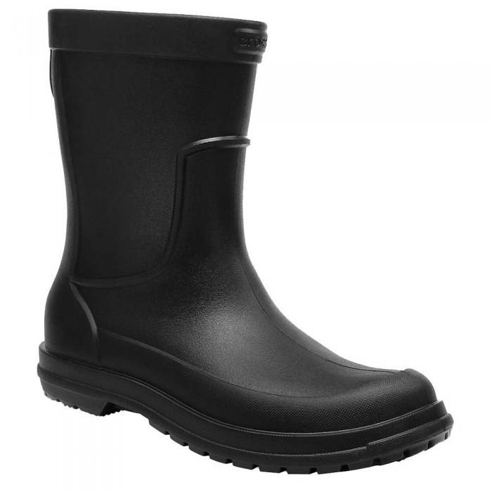 [해외]크록스 올Cast Rain Boot Black / Black