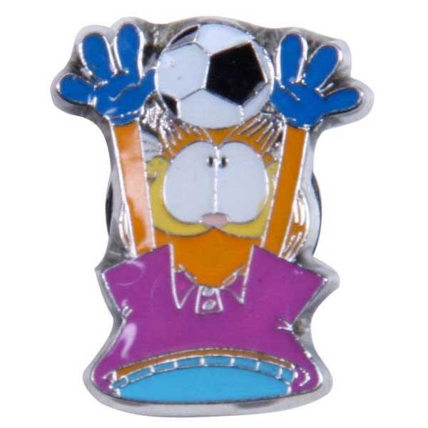 [해외]JIBBITZ Garfield 풋볼 Purple