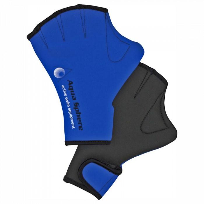 [해외]아쿠아스피어 스윔 Glove Blue / Black