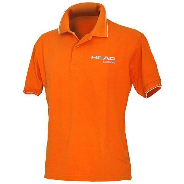 [해외]헤드 SWIMMING Polo 6651518 Orange / White