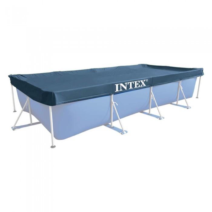 [해외]인텍스 Rectangular 풀 Cover Blue
