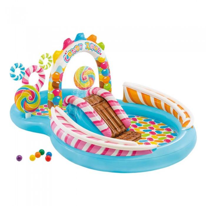 [해외]인텍스 Inflatable C앤드y Zone Play Centre Multicolor