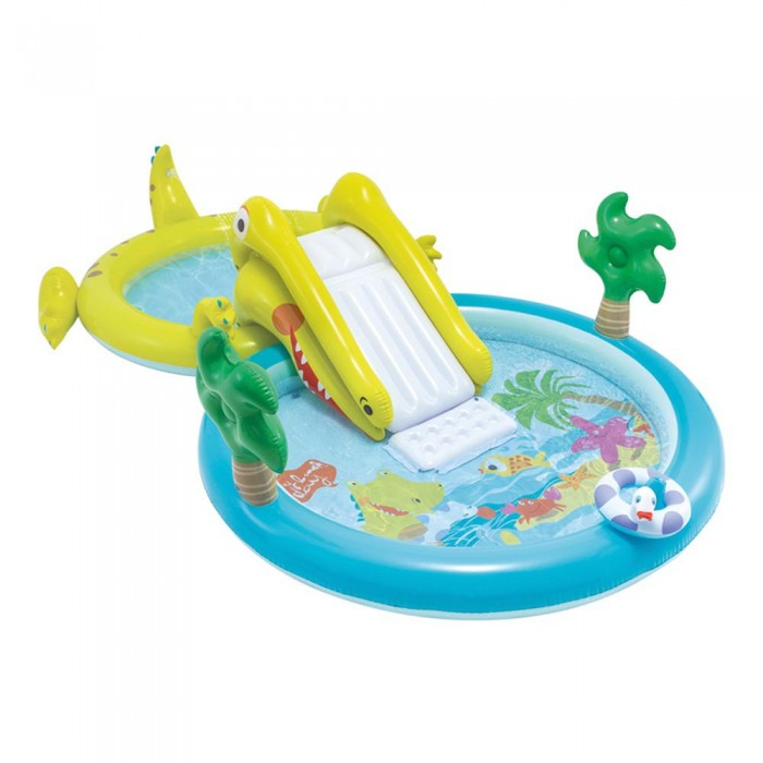 [해외]인텍스 Water Play Centre 위드 슬라이드 Multi