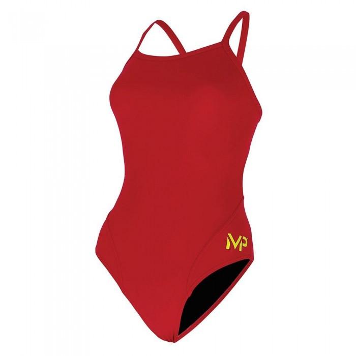 [해외]MICHAEL 펠프스 Solid Mid Back 6136782184 Red