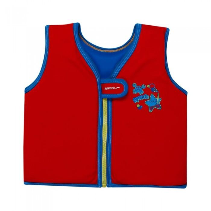 [해외]스피도 Sea Squad Float Vest Lava Red / Neon Blue