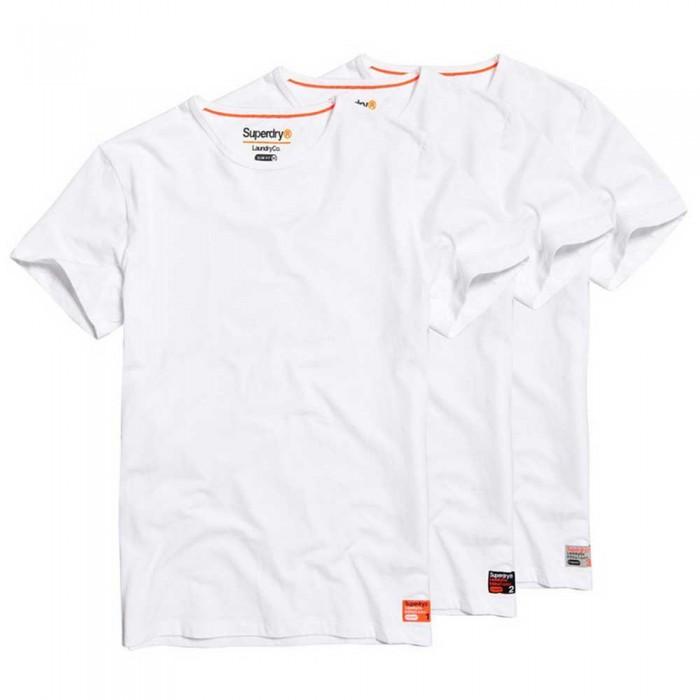 [해외]슈퍼드라이 Laundry 슬림 Triple 팩 Laundry White