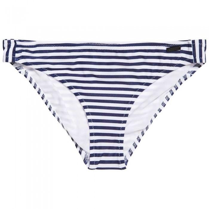 [해외]슈퍼드라이 Cruise Stripe Bikini Bottom Navy Mini Stripe
