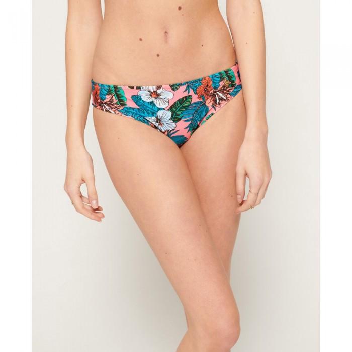 [해외]슈퍼드라이 Pop Hibiscus Bikini Bottom Coral