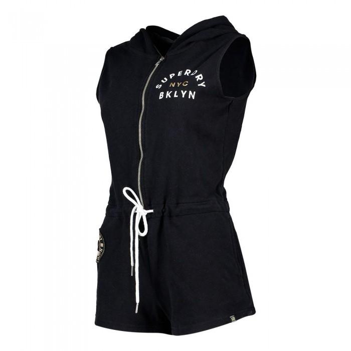 [해외]슈퍼드라이 퍼시픽 스포츠 Playsuit Black