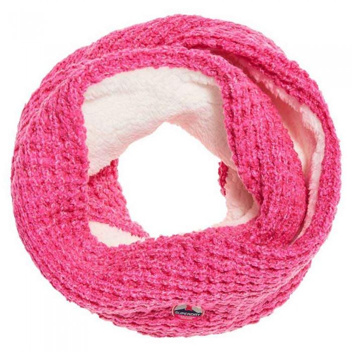[해외]슈퍼드라이 Clarrie Stitch Snood Fluro Pink