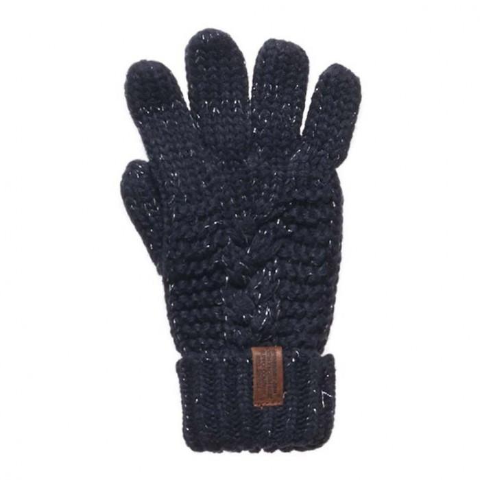 [해외]슈퍼드라이 노rth 케이블 Glove Fortune Navy Sparkle