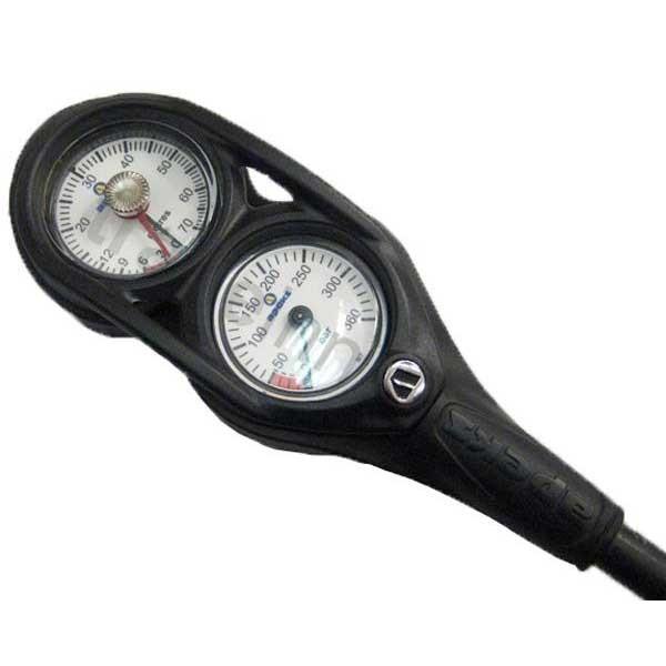 [해외]아펙스 Console Pressure/Depth Gauge 1013522 Pewter