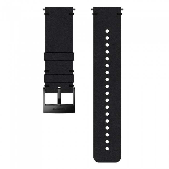 [해외]순토 Urban 2 Leather Strap 12136954646 Black