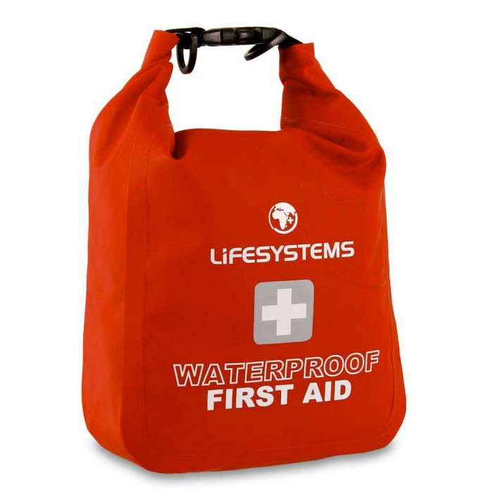 [해외]LIFESYSTEMS Waterproof First Aid Kit 14135876473 Red
