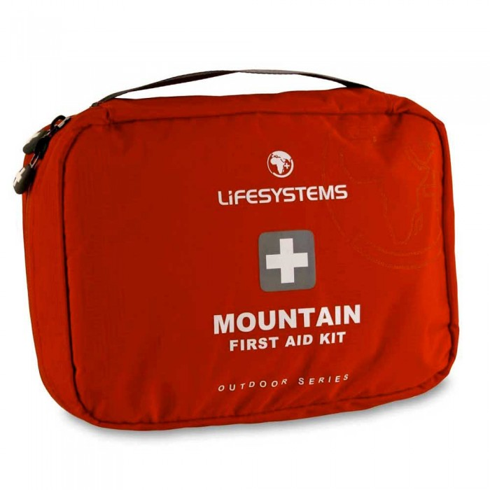 [해외]LIFESYSTEMS Mountain First Aid Kit 14135876447 Red