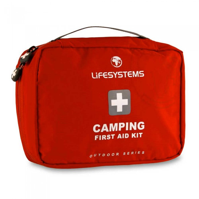 [해외]LIFESYSTEMS Camping First Aid Kit 14135876405 Red