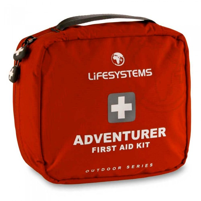 [해외]LIFESYSTEMS Adventurer First Aid Kit 14135876396 Red