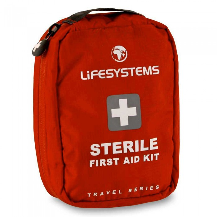 [해외]LIFESYSTEMS Sterile First Aid Kit 14135876460 Red