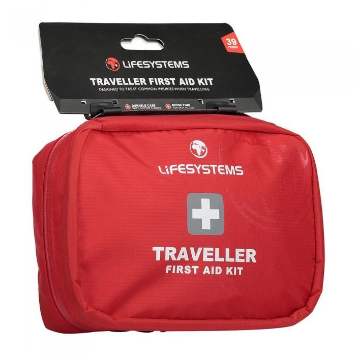 [해외]LIFESYSTEMS Traveller First Aid Kit 14135876470 Red