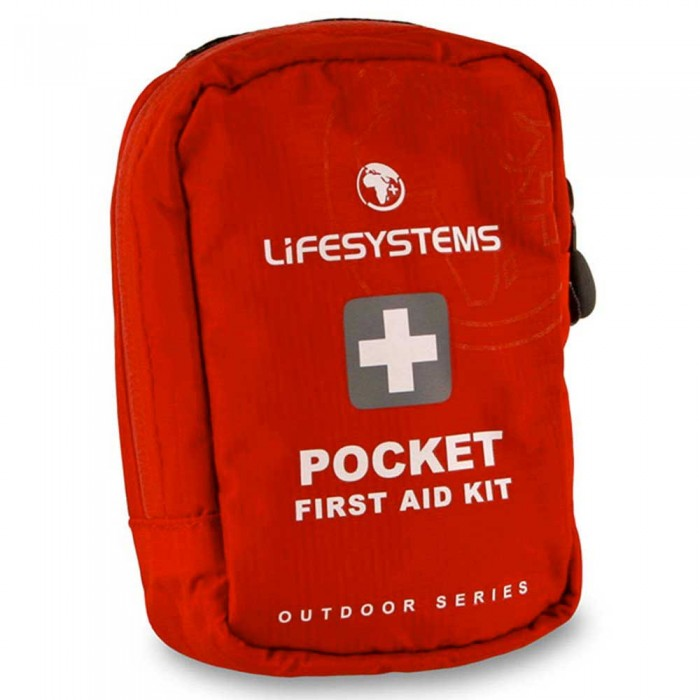 [해외]LIFESYSTEMS Pocket First Aid Kit 14135876453 Red
