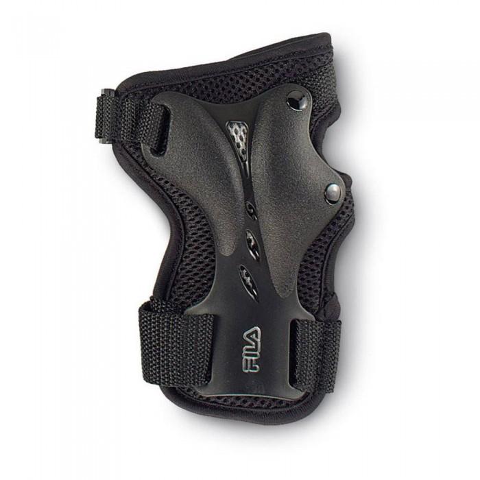 [해외]휠라 SKATE 피트ness Wristguard Black / Silver