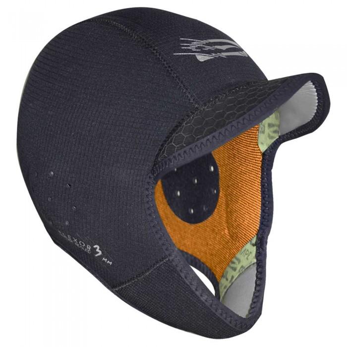 [해외]GUL Peaked Surf Cap 3 mm Black