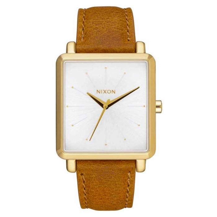 [해외]닉슨 K Squared Watch Gold / Saddle